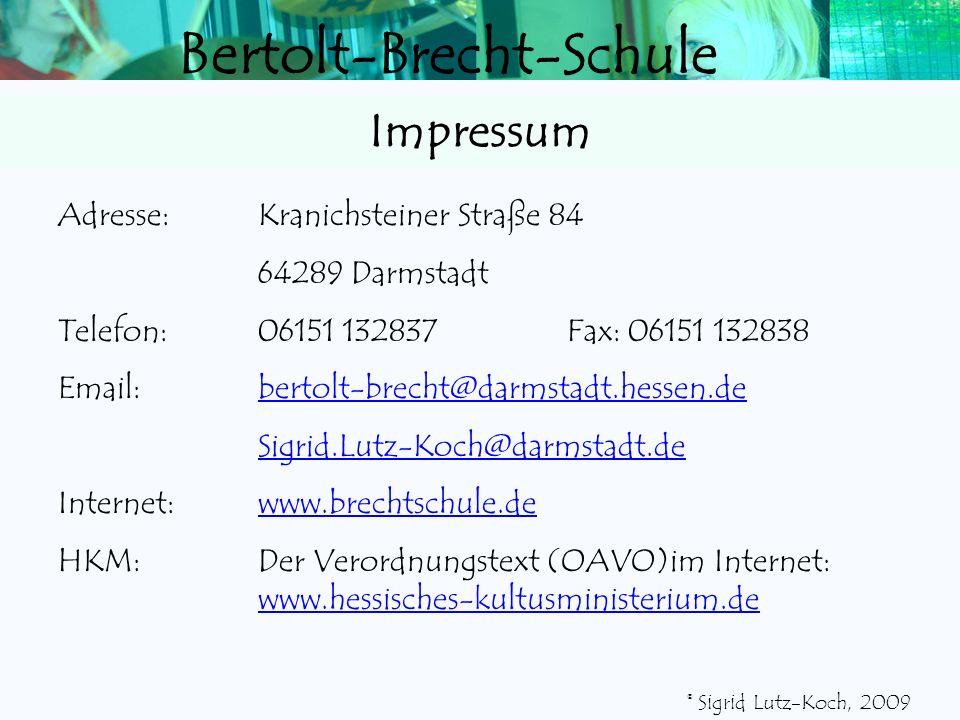 Bertolt-Brecht-Schule 8/9 Q4 Q3 Q2 Q1 E2 E1 9/10 GymnasialklasseRealschulklasse Qualifiz. HA Ohne HA V 11 RA mit Eignung RA BVJ Klasse 10 HA 2-j. BFS