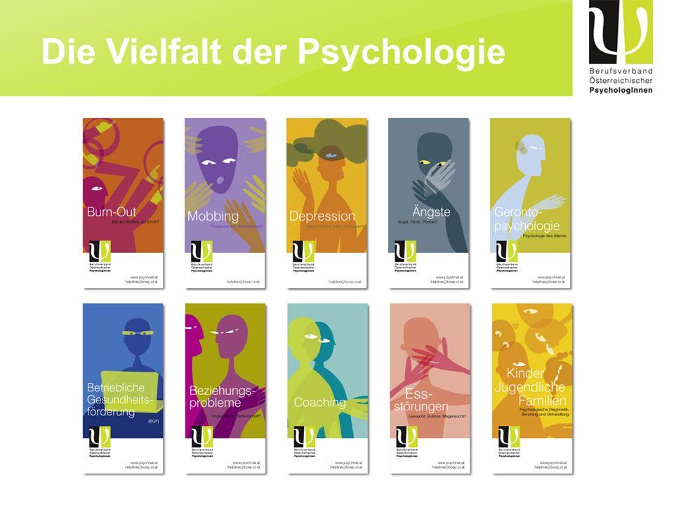 Die Vielfalt der Psychologie