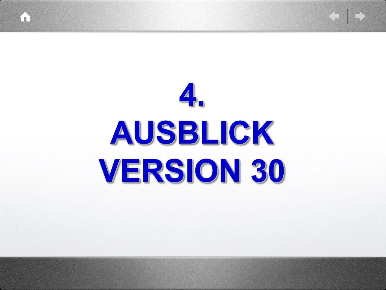 4.AUSBLICK VERSION 30 4.AUSBLICK