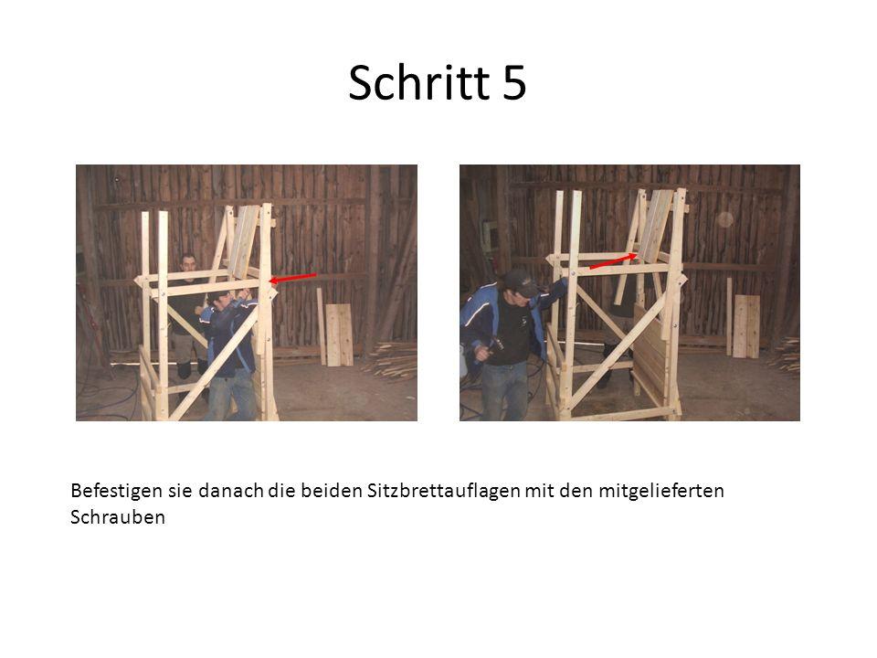 Schritt 6 Befestigen Sie nun den Boden auf beiden Seiten