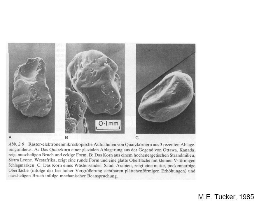 Vorgehensweise 1.Qualitative Unterscheidung in Gesteinstyp: -Sandstein (farblich unterschieden) -Karbonate -Metamorph (z.B.