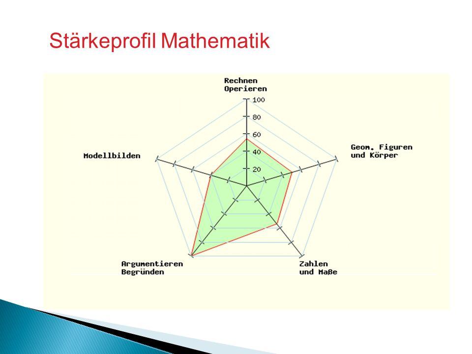 Stärkeprofil Mathematik
