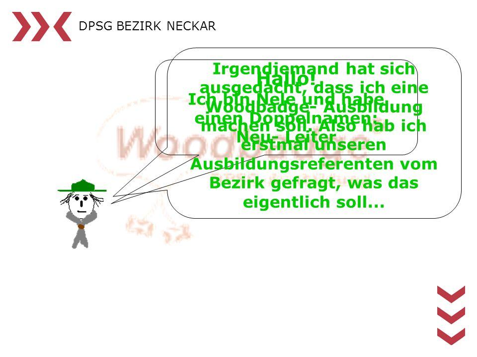 DPSG BEZIRK NECKAR Modul 1