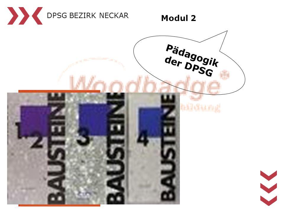 DPSG BEZIRK NECKAR Modul 2 Pädagogik der DPSG