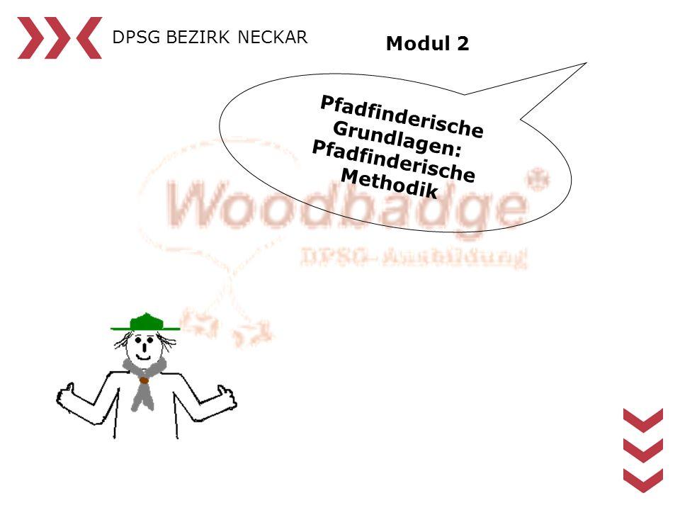 DPSG BEZIRK NECKAR Pfadfinderische Grundlagen: Pfadfinderische Methodik Modul 2
