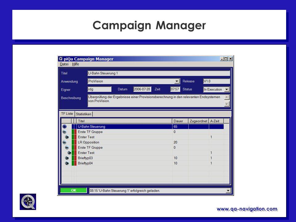 www.qa-navigation.com Campaign Manager