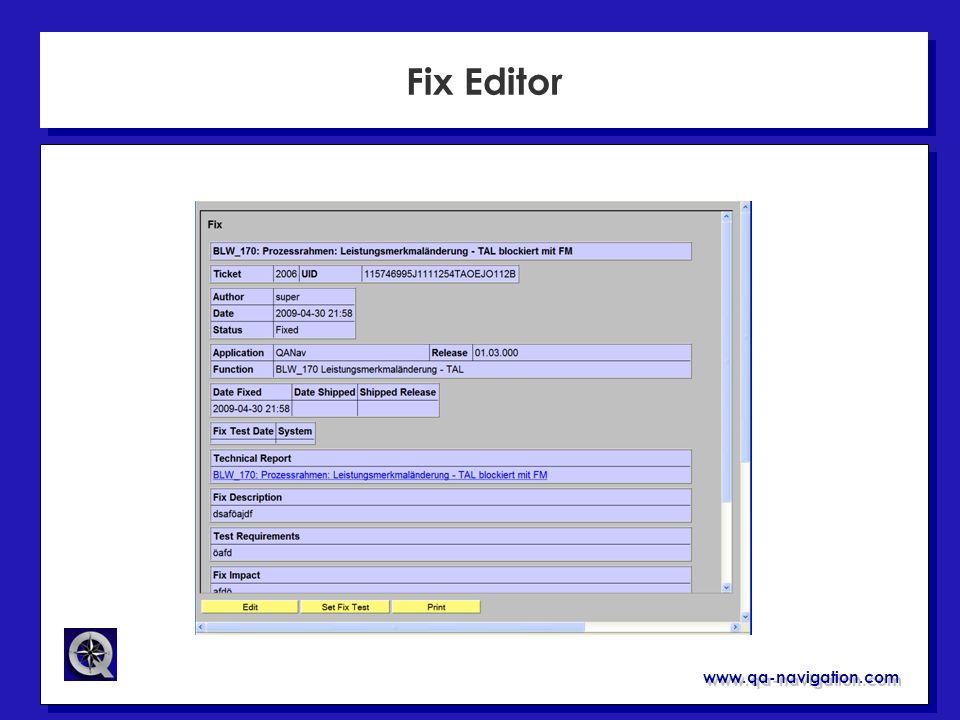 www.qa-navigation.com Fix Editor