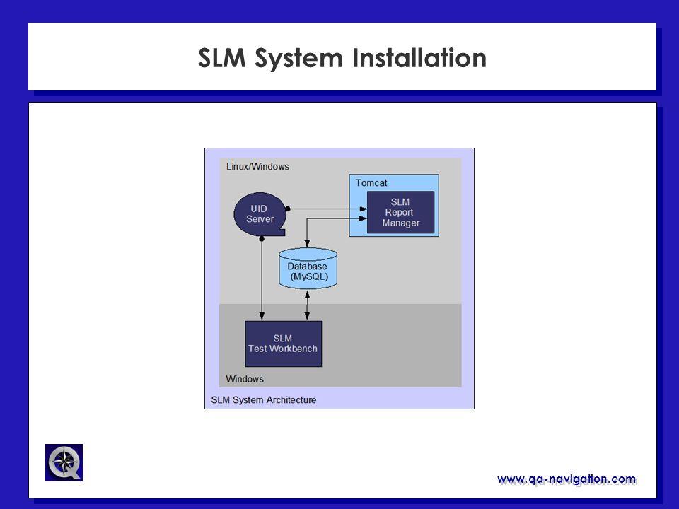 www.qa-navigation.com SLM System Installation