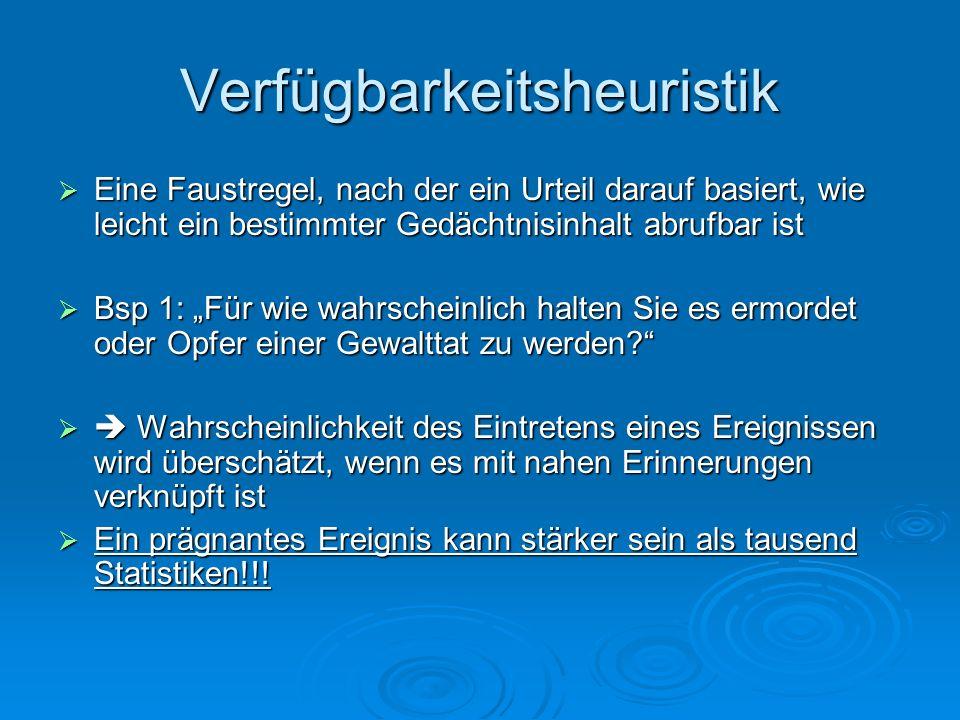 Verfügbarkeitsheuristik Bsp.