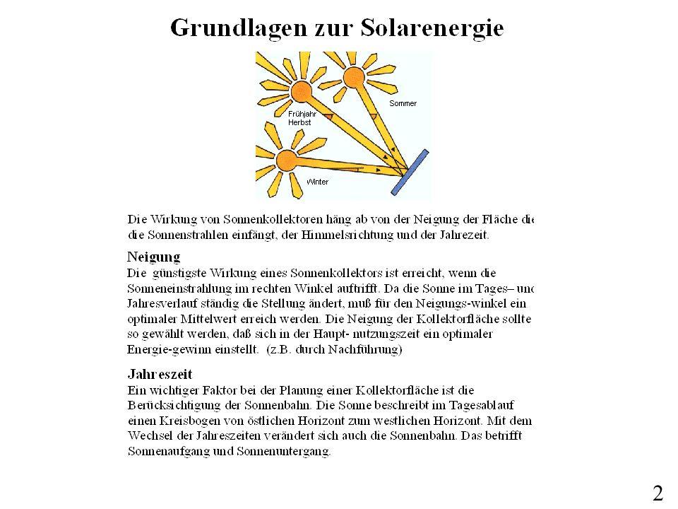 Solare Strahlung 1961-1990 in W/m2 und Jahr 3 Hier wirds aufgebaut