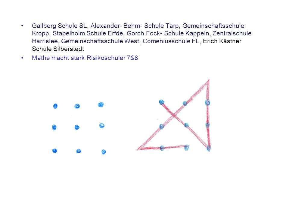 Gallberg Schule SL, Alexander- Behm- Schule Tarp, Gemeinschaftsschule Kropp, Stapelholm Schule Erfde, Gorch Fock- Schule Kappeln, Zentralschule Harris