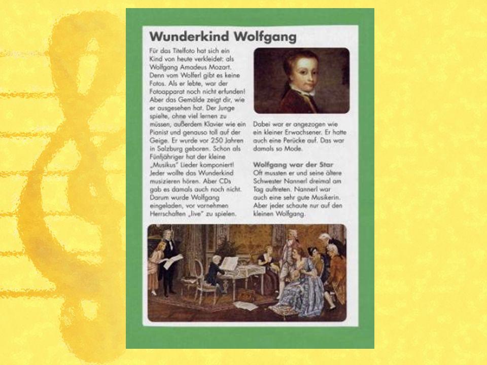 Auf der österreichischen 1-Euro Münze ist das Gesicht von Mozart dargestellt.