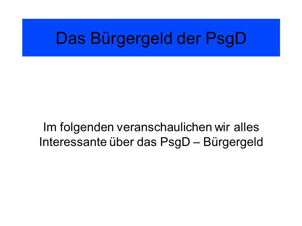 Was kostet das PsgD – Konzept.