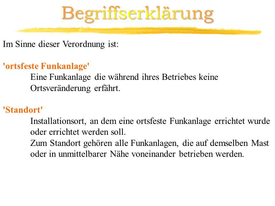 Durchführung Grenzwerte: II.) gem.