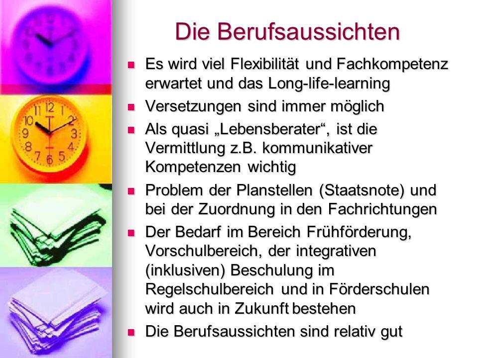 Bachelor Sonderpädagogik Bachelor Sonderpädagogik Neuer (auch eigener) Studiengang Neuer (auch eigener) Studiengang ab dem WS 12/13 (Uni-Würzburg) ab dem WS 12/13 (Uni-Würzburg) Abschluss: Bachelor of Arts Abschluss: Bachelor of Arts Bereitet auch auf sonderpädagogische Aufgabenfelder außerhalb der Schule vor, z.B.