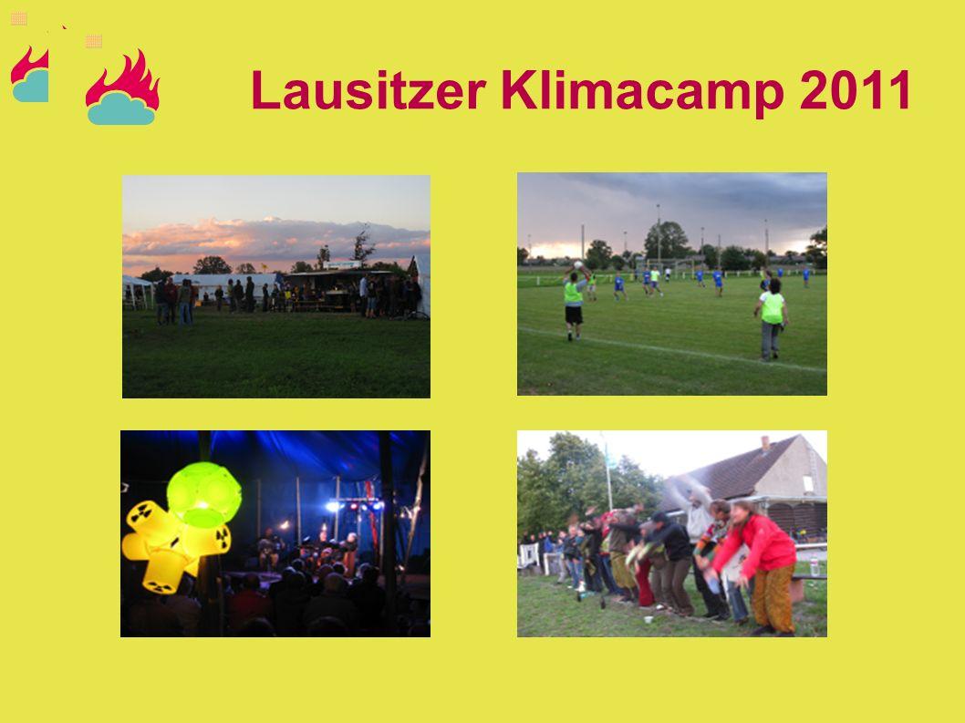 Lausitzer Klimacamp 2012 Wir legen den Finger wieder in die Wunde und gehen ins Lausitzer Braunkohlerevier Bunte Auftaktdemo: 11.08 ab 12:30 in Cottbus Camp vom 11.