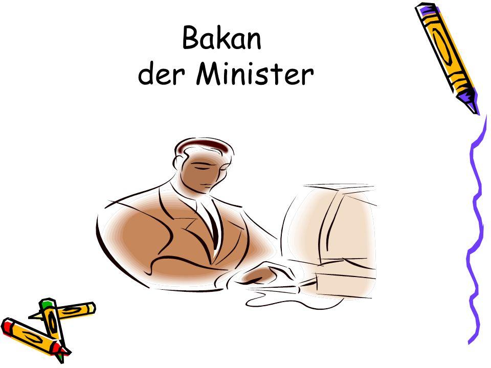 Bakan der Minister