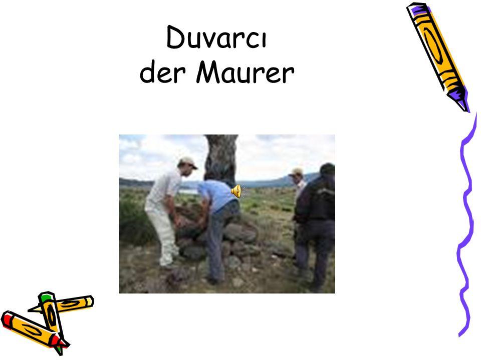 Duvarcı der Maurer