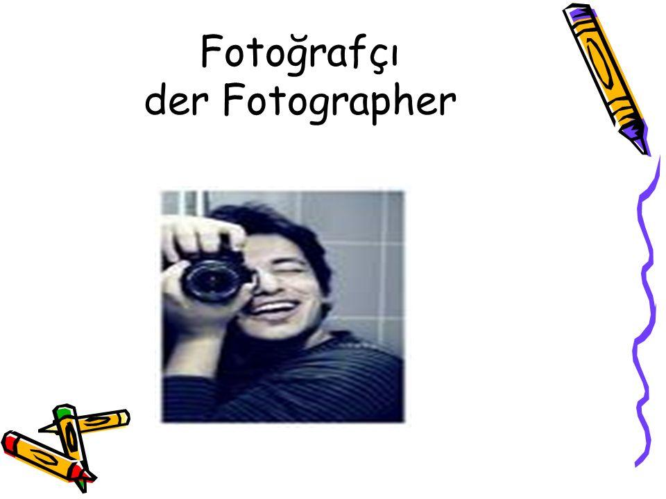 Fotoğrafçı der Fotographer