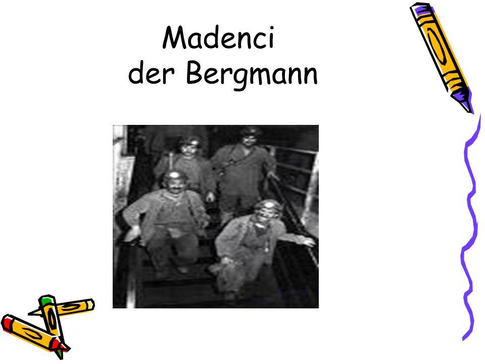 Madenci der Bergmann