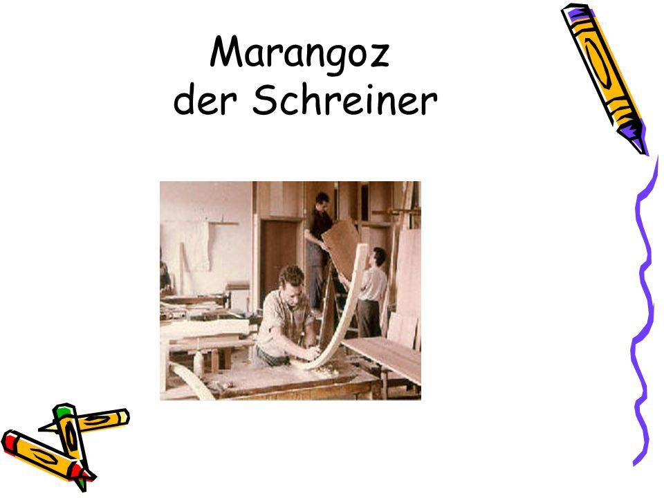 Marangoz der Schreiner