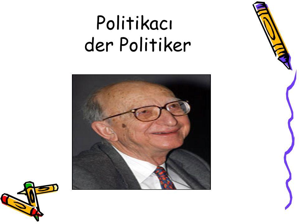 Politikacı der Politiker