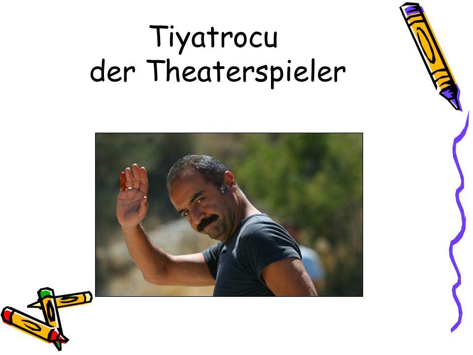 Tiyatrocu der Theaterspieler