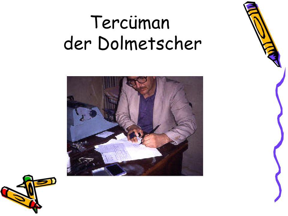 Tercüman der Dolmetscher