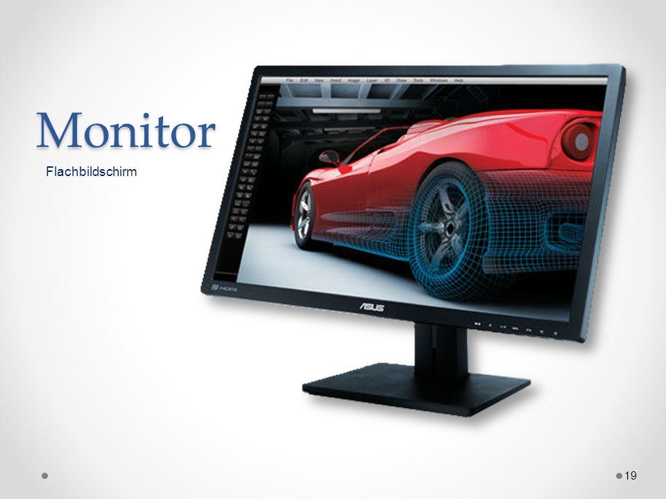 Monitor 19 Flachbildschirm