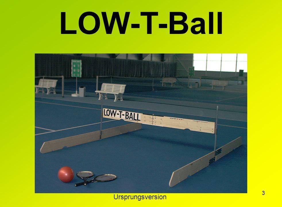 2 Die Windeln habe ich gerade hinter mir, Laufen klappt auch schon ganz gut, aber vor dem Lesen und Schreiben, spiel´ ich erst mal Low-T-Ball.