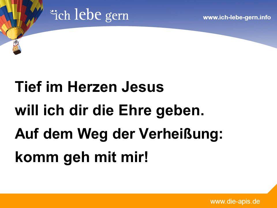 www.die-apis.de www.ich-lebe-gern.info Du versöhnst die Menschen nach der VerheißungChristi Blut für dich gegeben am Kreuz.