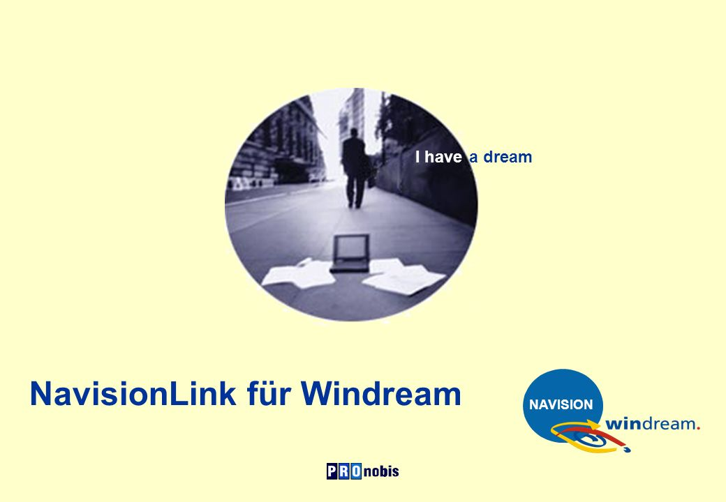 NavisionLink für Windream I have a dream NAVISION