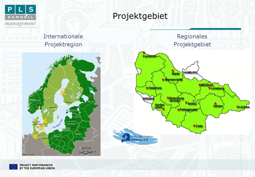Projektgebiet Internationale Projektregion Regionales Projektgebiet