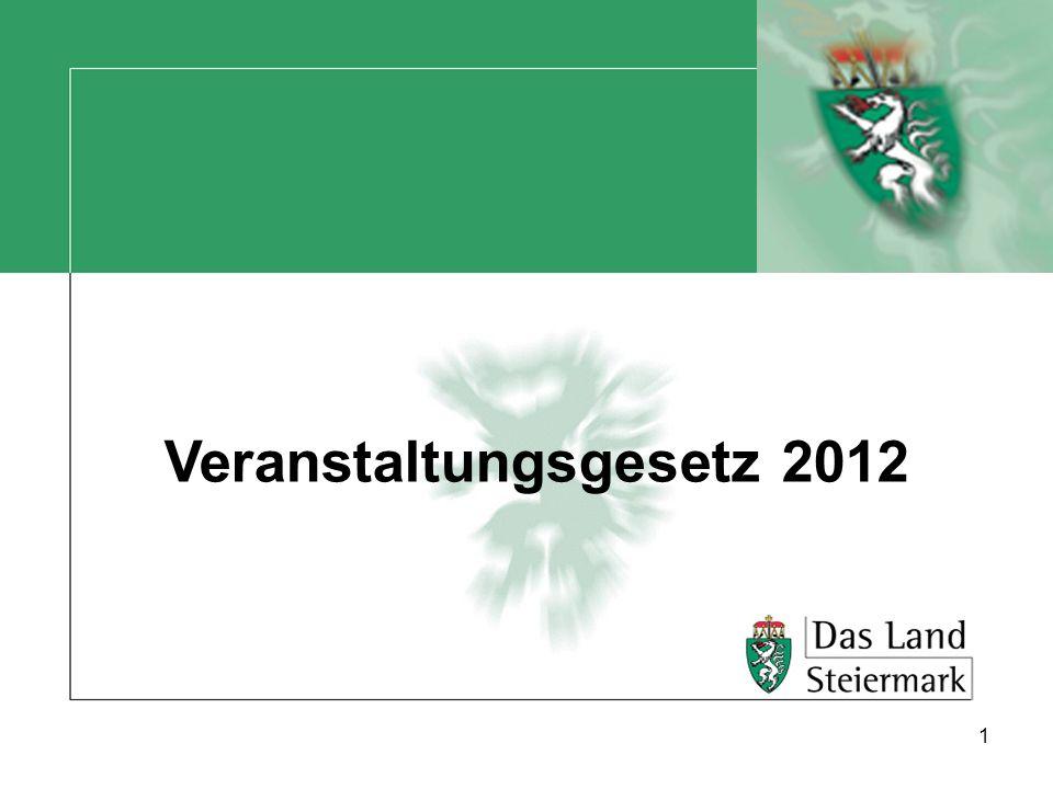 Veranstaltungsgesetz 2012 1