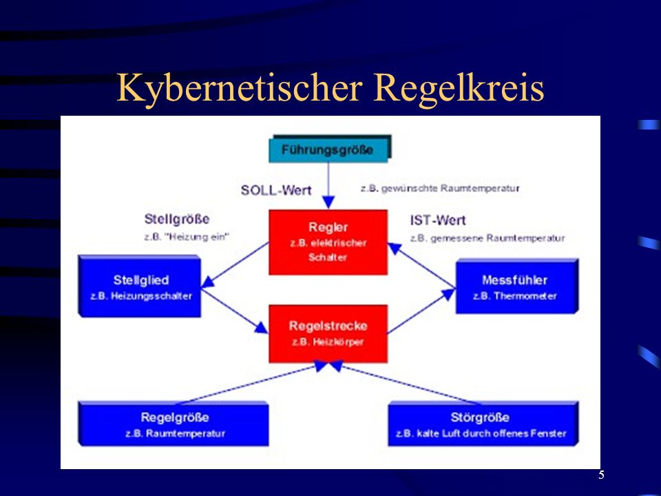 5 Kybernetischer Regelkreis
