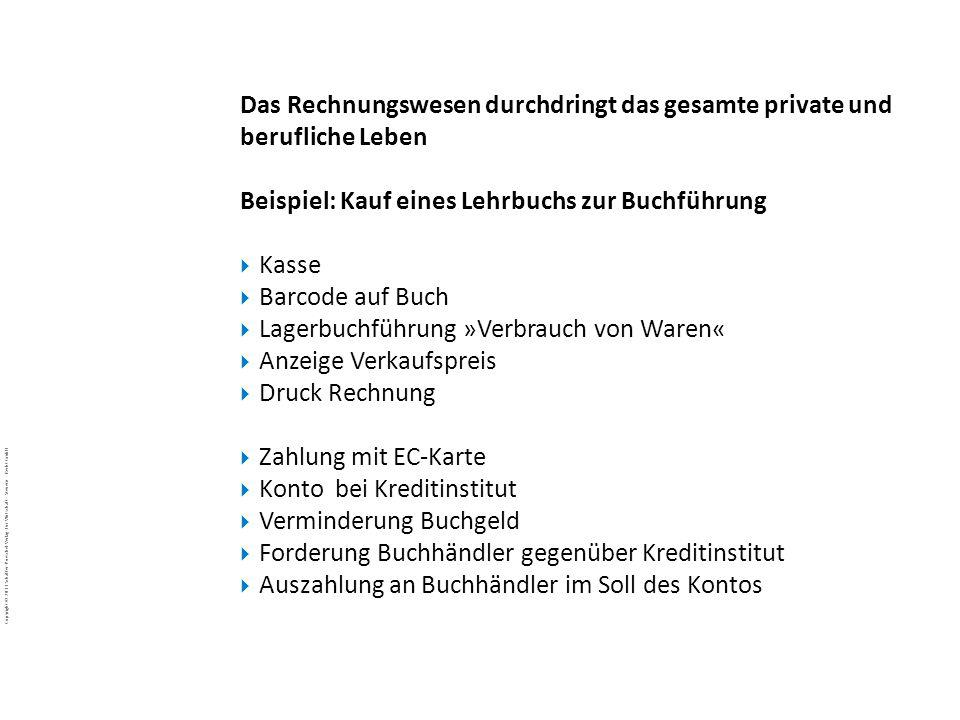 Copyright © 2011 Schäffer-Poeschel Verlag für Wirtschaft · Steuern · Recht GmbH BuJa-d7EgcYoE5_Copyright_Schäffer-Poeschel_Verlag Das Rechnungswesen d