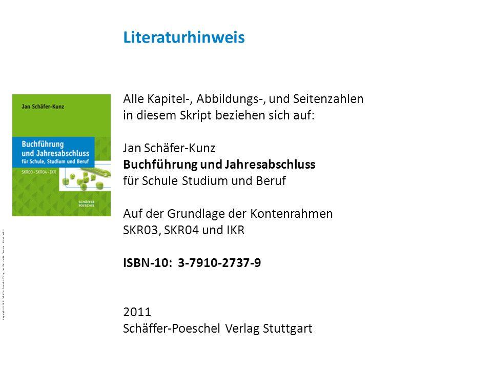 Copyright © 2011 Schäffer-Poeschel Verlag für Wirtschaft · Steuern · Recht GmbH BuJa-d7EgcYoE5_Copyright_Schäffer-Poeschel_Verlag Alle Kapitel-, Abbil