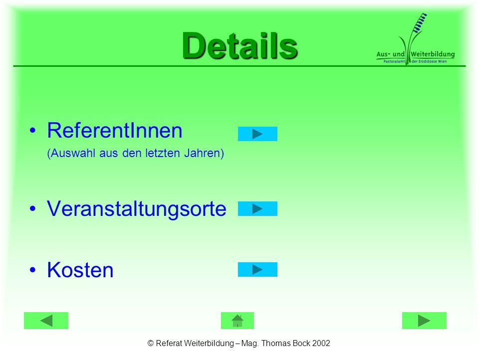 ReferentInnen Dr.Anneliese Fuchs Psychologin u. Psychotherapeutin, Wien Dr.