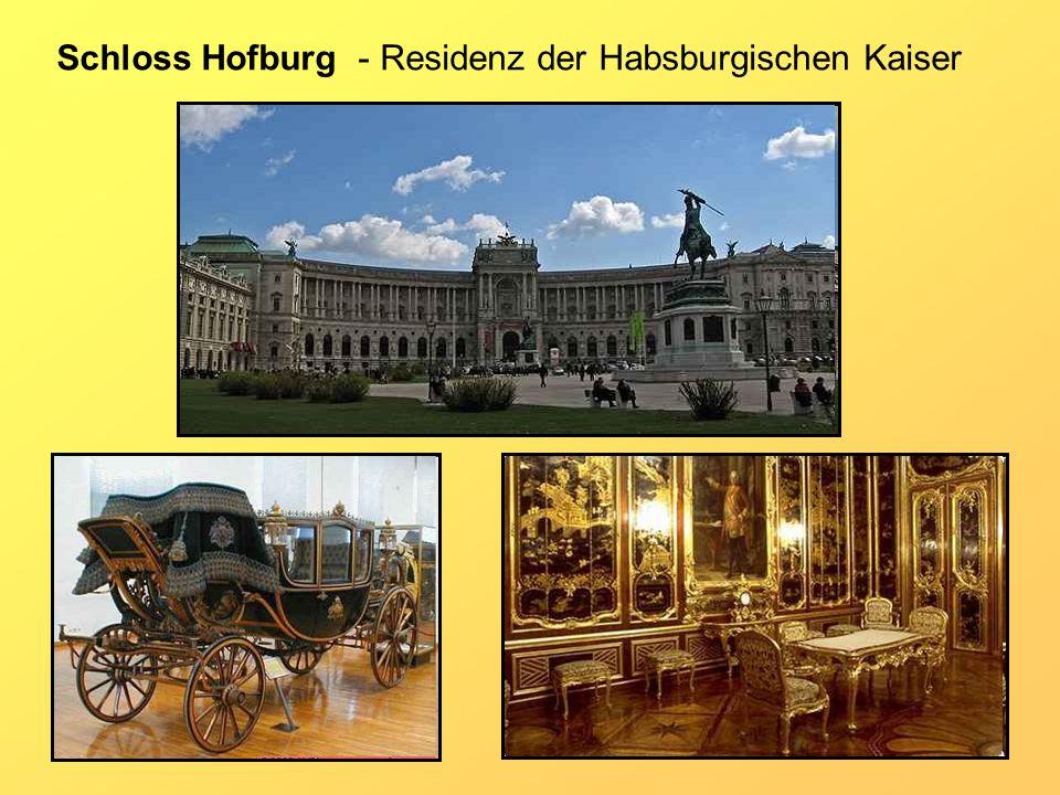 Schloss Hofburg - Residenz der Habsburgischen Kaiser