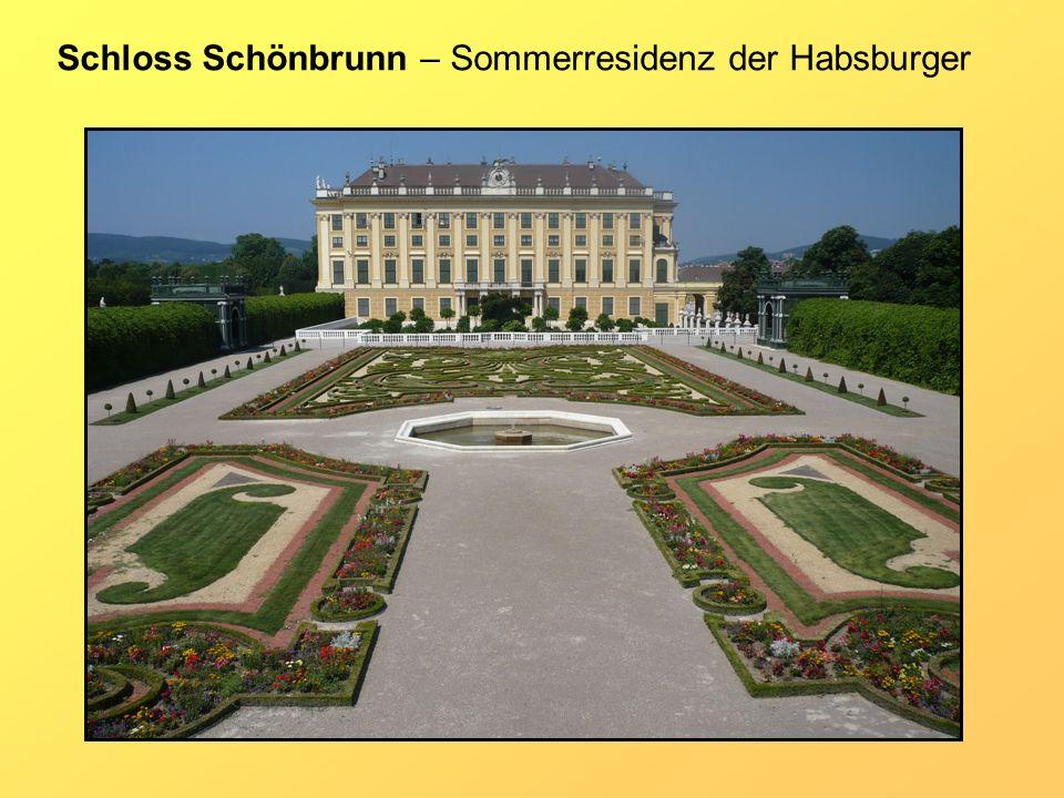 Schloss Schönbrunn – Sommerresidenz der Habsburger