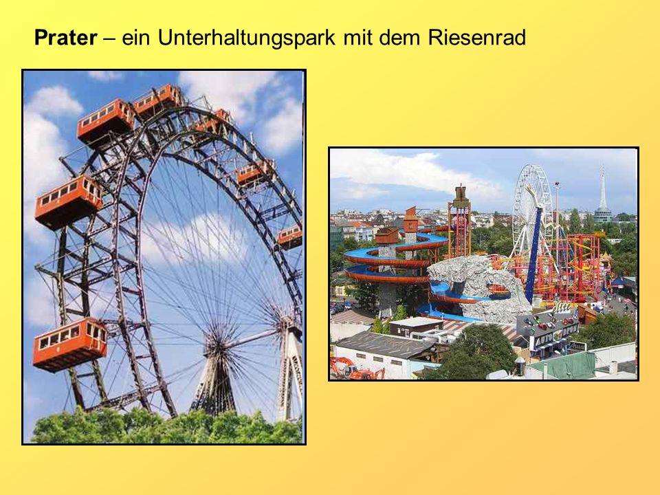Prater – ein Unterhaltungspark mit dem Riesenrad
