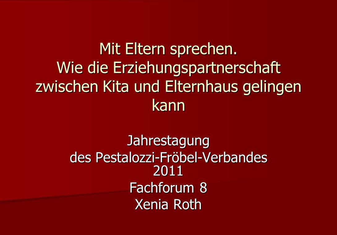 Xenia Roth - Zusammenarbeit mit Eltern / Xenia.Roth@mifkjf.rlp.de Zu meiner Person und Perspektive Dipl.