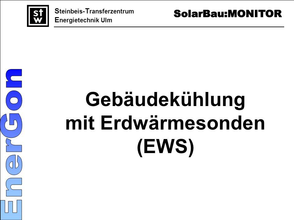 S teinbeis- T ransferzentrum E nergietechnik Ulm Gebäudekühlung mit Erdwärmesonden (EWS)