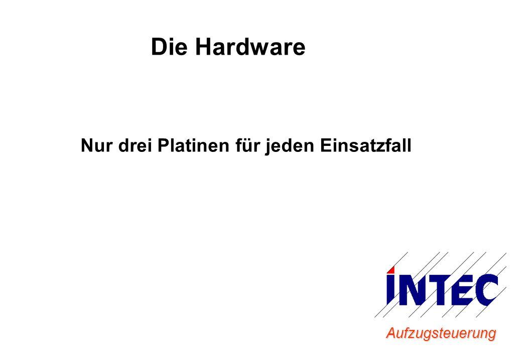 Aufzugsteuerung Die Hardware Nur drei Platinen für jeden Einsatzfall