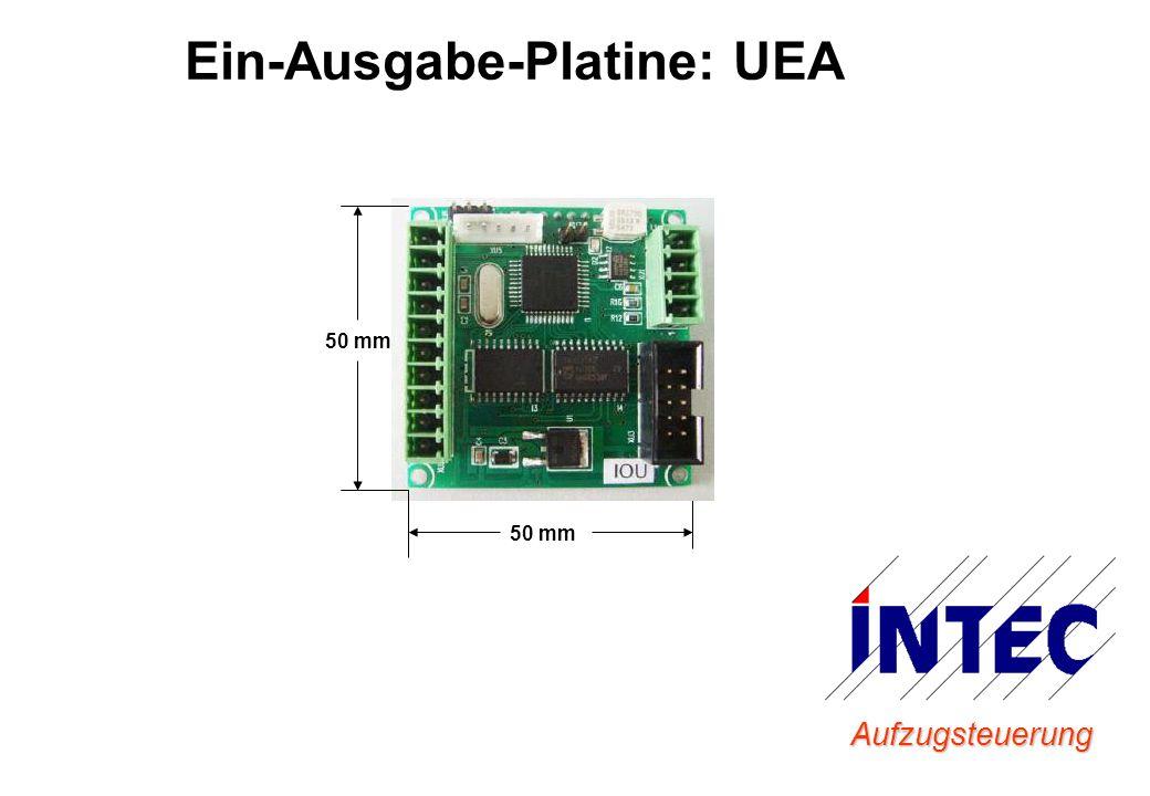 Aufzugsteuerung Ein-Ausgabe-Platine: UEA 50 mm