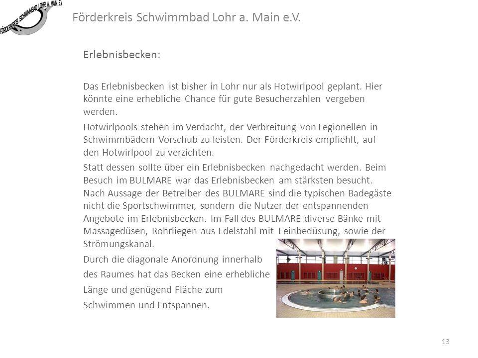 Förderkreis Schwimmbad Lohr a. Main e.V. Kleinkinderbecken: 12