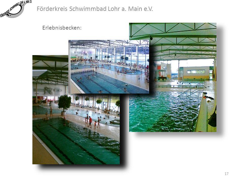 Förderkreis Schwimmbad Lohr a. Main e.V. Erlebnisbecken: 16