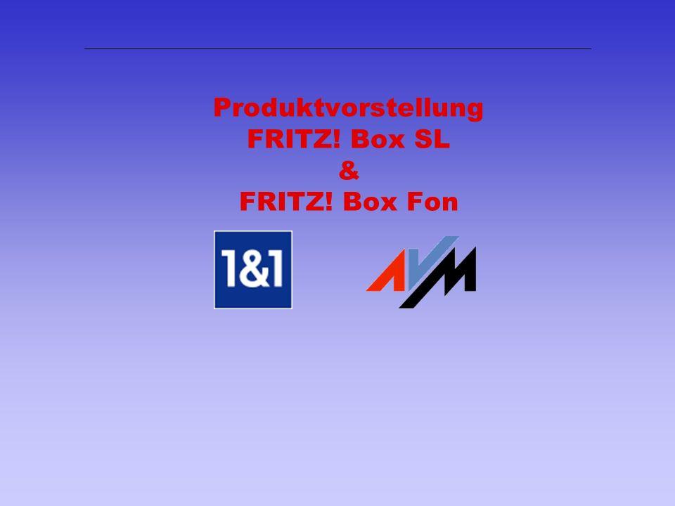 1 Produktvorstellung FRITZ! Box SL & FRITZ! Box Fon