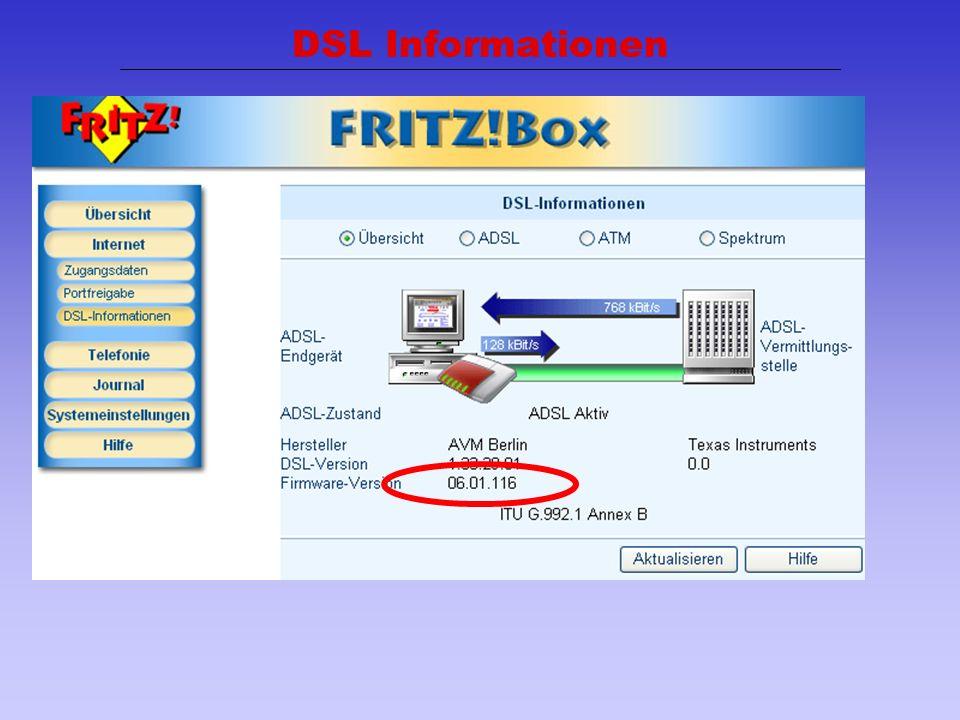 19 DSL Informationen