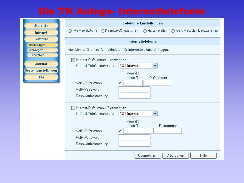 39 Die TK Anlage- Internettelefonie